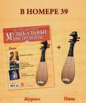 Музыкальные инструменты + модель инструмента. №39 Пипа