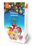 Кокосовые конфеты с манго, картонная упаковка 100 г.