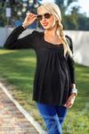 Стильная блуза беременной