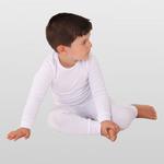 Термобелье детское Thermoform для мальчиков (50%хлопок+50%полиэстер). Комплект рубашка + кальсоны.