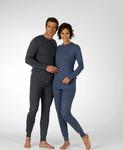 Термобелье унисекс Thermoform (50%бамбуковая нить+50%хлопок). Комплект кальсоны + рубашка.