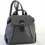 Сумка 297 серый+черный (рюкзак)