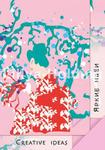 Блокнот из цветной бумаги «CRIATIVE IDEAS», ПЛ-0820 цвет розовый формат 100х140, 20 листов