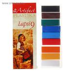 1075474 Пластика - полимерная глина набор LAPSI 9 классических цветов 180г