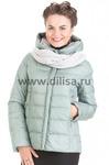 Куртка Clasna (цвет в ассортименте) в комплекте идет вязаный шарф