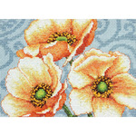 Dimensions Crafts 70-65139 Windflowers Counted Cross Stitch Kit