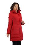 Куртка женская зимняя VL-105, красный