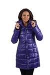Куртка женская зимняя VL-103, электрик