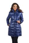 Куртка женская зимняя VL-107, синий