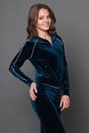 Женский спортивный костюм бархат WВ-1