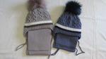 комплект зимний на мальчика шарф+шапка 2-4 года,
