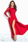 Платье с разрезом 42 44 46