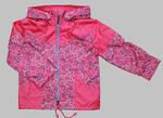 4121 Куртка для девочек на флисе