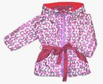 4205 Куртка для девочек на флисе