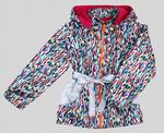 4204 Куртка для девочек на флисе (ростовка 146)