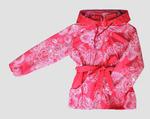 4211 Куртка для девочек на флисе (ростовка 140-146)