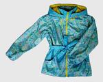 4212 Куртка для девочек на флисе (ростовка 140-146)