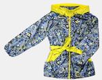 4210 Куртка для девочек на флисе (ростовка 140-146)
