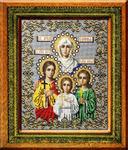 Набор д/вышивания бисер S-7 Вера, Надежда, Любовь и мать их Софья (Россия) 26х34 см