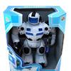 Робот эл/мех, со светом и звуком, с подвижными руками и ногами