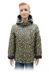 Куртка для мальчика А 164-15 салатовый