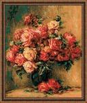 """Набор для вышивания арт.СС-1402 """"Букет роз"""" 40х48 см"""