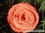 Трикотажная пряжа цвета коралл, 100м