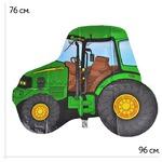 Шар фольгированный Трактор зеленый    158353