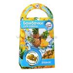 Делаем бомбочки для ванн Золотая рыбка с ароматом ананаса