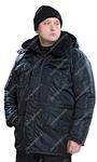 """Куртка утеплённая """"Зима"""" цв.Чёрный"""