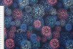 Поли понж (Дюспо), 240T WR PU Milky, Салют, 4/т.синий, 80 г/м2, шир.150 см