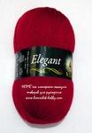 Пряжа ELEGANT 2068 (красная ягода)  УПАКОВКАМИ!!!