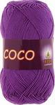 Пряжа COCO цвет 3888 лиловый УПАКОВКА!!!