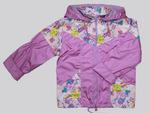4109- Куртка для девочек на флисе