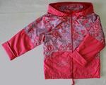 4116 Куртка для девочек на флисе