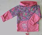 4115 Куртка для девочек на флисе