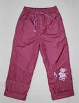 7071- брюки для девочек на флисе