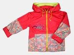 4080- Куртка для девочек на флисе