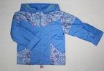 4093- куртка для девочек на флисе