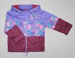4091- Куртка для девочек  на флисе