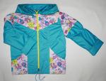 4092- куртка для девочек на флисе