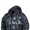 куртка 909 треугольники синие