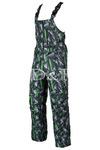 ПОЛУКОМБИНЕЗОН УТЕПЛЁННЫЙ мод. 12 треугольники зелёные