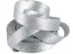 Лента парча серебро(ширина 6мм) ПТ: 094001000