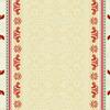 Набор скатерть+6 салфеток-Петухи(на сером фоне)