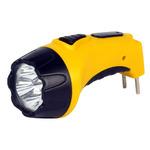 Фонарь светодиодный SmartBuy, 4LED, с прямой зарядкой, аккумуляторный