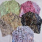 Шапка леопард галограмма 3-7 лет