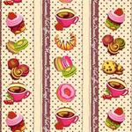 Вафельное полотно «Вкусняшки»