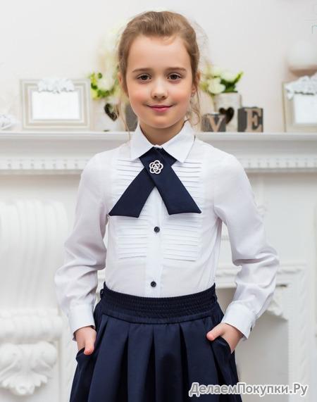 Блузка для девочки школьная купить москва
