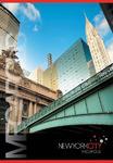 Тетрадь ACTION! НЬЮ-ЙОРК, на гребне, мелованный картон,уф-лак, клетка, ф. А4,  80 л., 2 диз